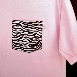 Pink Zebra 1 Med, 1 Lg