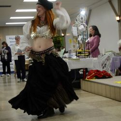 Belly Dancing with Karen Castanes and Epona's Daughters