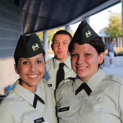 Cadet Ortega and Cadet Hughes. 2011