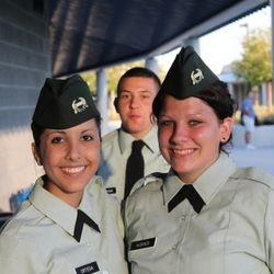 Cadet Ortega and Cadet Hughes. 2011