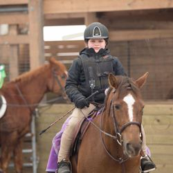 Fly and Ellie at their first show together! Eastwood Schooling Show March 2013.