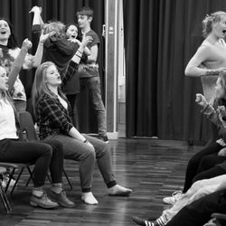 Master of the House - rehearsals for 'Footlights Favourites'
