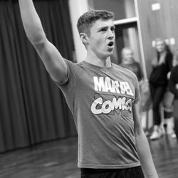 Enjolras: One Day More - rehearsals for 'Footlights Favourites'