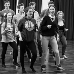 Grease is the Word - rehearsals for 'Footlights Favourites'