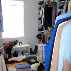 Master Closet - BEFORE