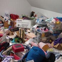 Storage room - BEFORE