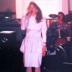 1992 Singing at Church GRAD Ceremony