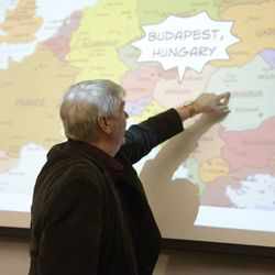 Dr. Richard Griffin  Fulbright: Teaching History/North American Studies in Hungary  Apr. 22nd