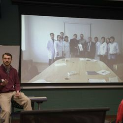 Dr. Chris Westerkamp Fulbright: Teaching (Physiology) in Mongolia Apr. 15th