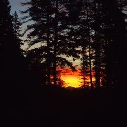 An Autumn sunrise