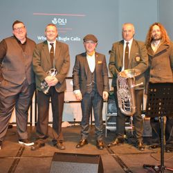 left-right : - Gareth Sykes, Andrew Potts, Gary Miller, Steven King, Iain Petrie