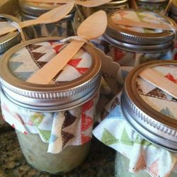 Apple pies in a jar!