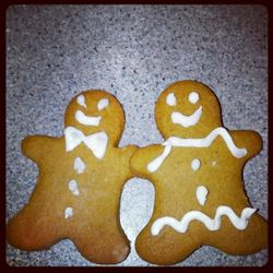 Gingerbread men! A wonderful traditional gingerbread, like your grandma made!