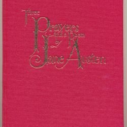 Three Prayers & a Poem Hardback by Jane Austen