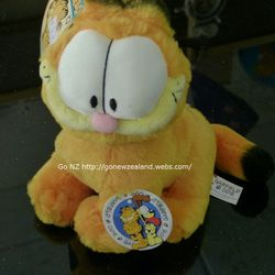 Garfield soft toy. You can find in our Thames store