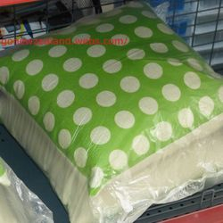 cushion 1 for $15 pairs for $25 in both shops