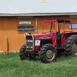 The Bizoha Tractor available for hire