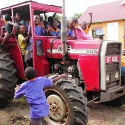 Tractor hire services For bookings call 0785195561