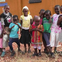 Some pioneer orphans @ Bizoha Hostel
