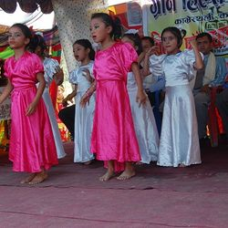 Kids Performing during Farewell of SLC Batch 2067