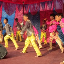 Kids Performing during Parents' Day