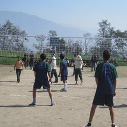 GHA in Inter School Volleyball Competition