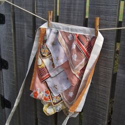 Fall colors hanky apron - sorry this one sold