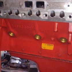Motoraufbau Chrysler 502 Stroker