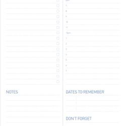 PADD-01 Daily Planner