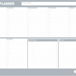 PADW-02 Weekly Planner in Surfmist Grey