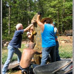 Raising the Creator Stone