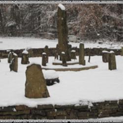 Snow Covered Medicine Wheel