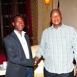 His Excellency Museveni & Kivumbi