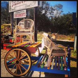 Featured pieces on our Gypsy Cart