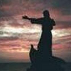 Jesus calming the storm