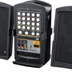 $60.00 Premium Sound with Aux and two microphones.