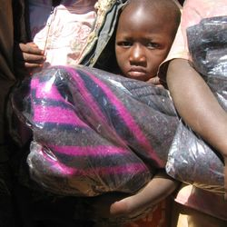 Supply of blankets