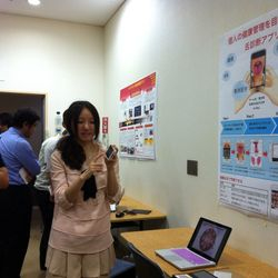 Demonstration of TongueDx research in the Student smartphone application contest. (2013.09)