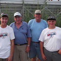 Hunter, RG, Ron, Treven