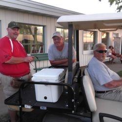 Rick Allely, Steve Hanson, Ted Baker