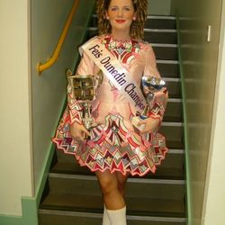 Senior Champion in 2011 at Feis Dunedin Scotland