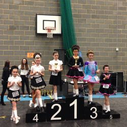 Ceim Oir Feis- Edie 2nd in Primary Slip Jig