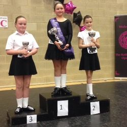 Edie- 2nd Place Slip Jig at Kelley O Boyle Feis