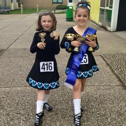 After the feis with all their winnings