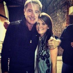 Louise meeting Michael Flatley