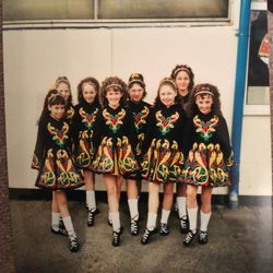 Under 12 Ceili team at the Great Britain Championships