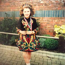 Louise Age 10 at Corby Feis