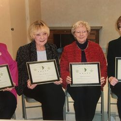 2006 Women In History Darlene Lunde, Mary O'Brien, Doloris Laverty, Marion Hagen Not pictured- Adell Ruhter