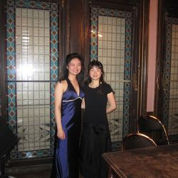 29 March 2013, Performed Poulenc Sonata with Misaki Baba at Salle Cortot, Ecole Normale de Musique de Paris.