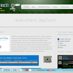One week before the JezzTech Anniversary, we update the theme to this!